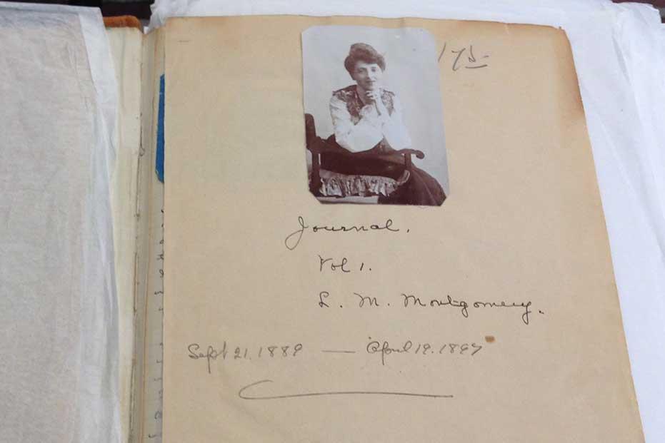 Lucy Maud Montgomery's journal